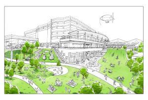 南町田拠点創出まちづくりプロジェクト 東急電鉄との官民共同まちづくり